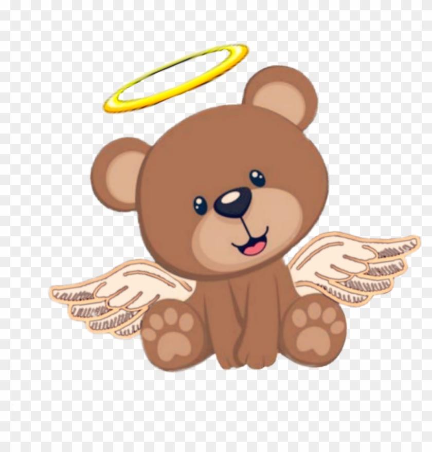 ángel #angelito #osito #cute #tierno&adorable #bebe.