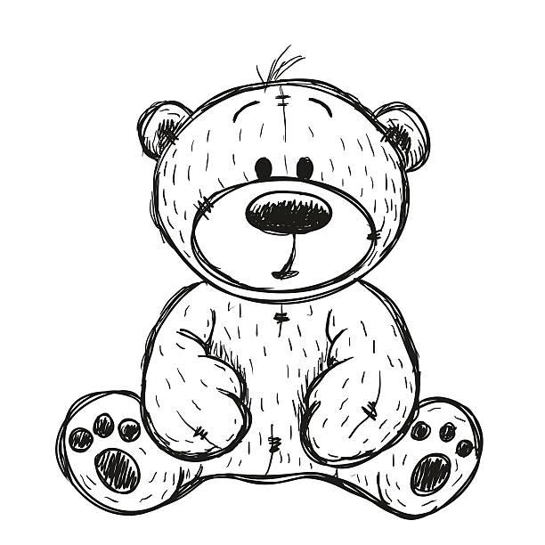 Best Teddy Bear Illustrations, Royalty.