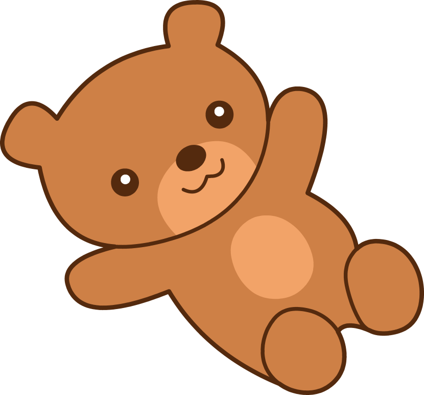 Cute Teddy Bear Clipart.