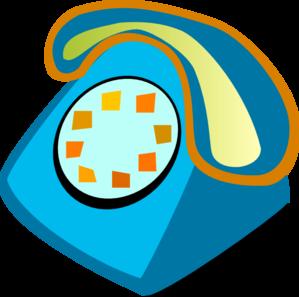Telephone Clip Art at Clker.com.