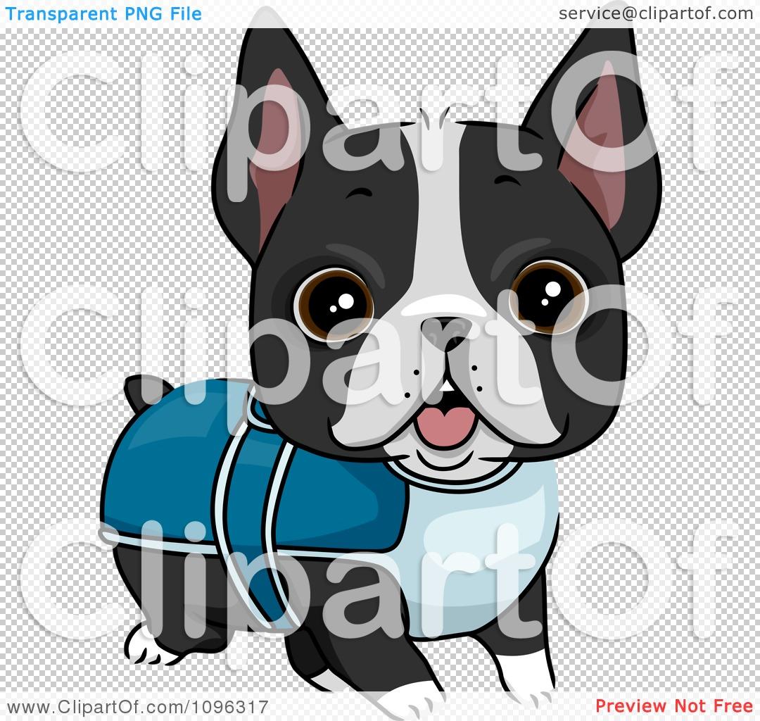 Cute Terrier Clipart.