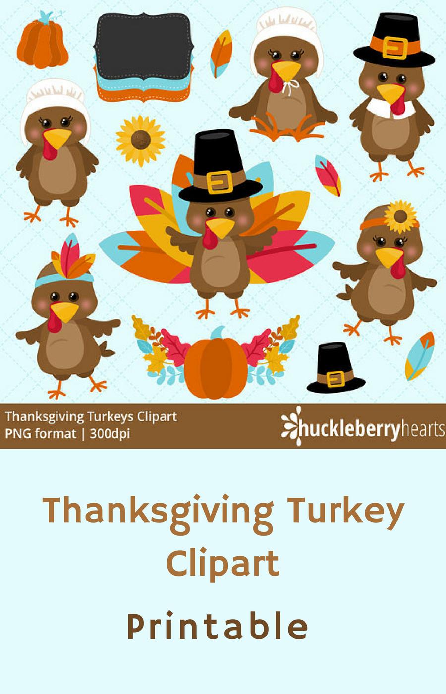 I love this cute Thanksgiving Clipart! Turkey Clip Art, Turkey Clip.