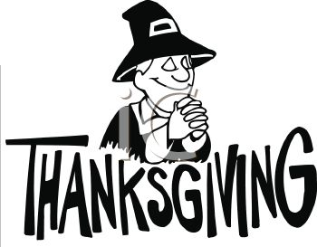 Happy Thanksgiving Turkey Clipart Black And White.