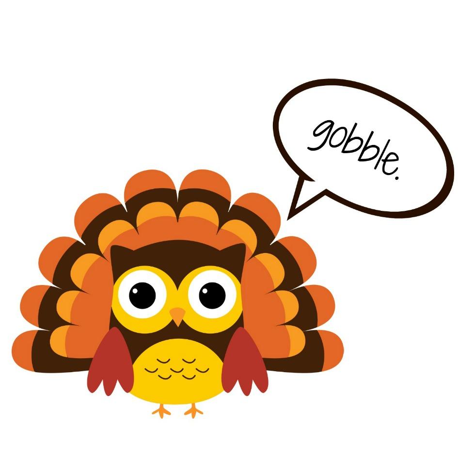 Cute turkey clipart free.