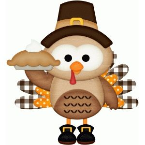 Thanksgiving clip art cute.