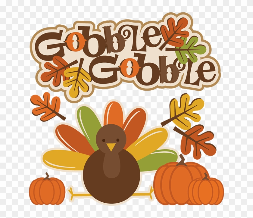 28 Collection Of Gobble Turkey Clipart.