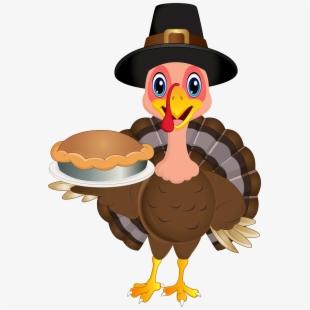Thanksgiving Turkey Clipart Vector.
