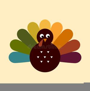 Cute Thanksgiving Turkey Clipart.