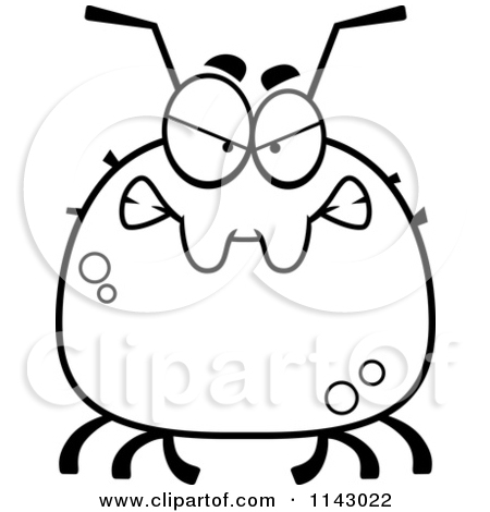 Cute Tick Clipart.