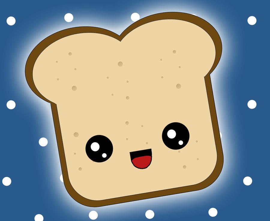 Kawaii Toast by tsuuChan on DeviantArt.