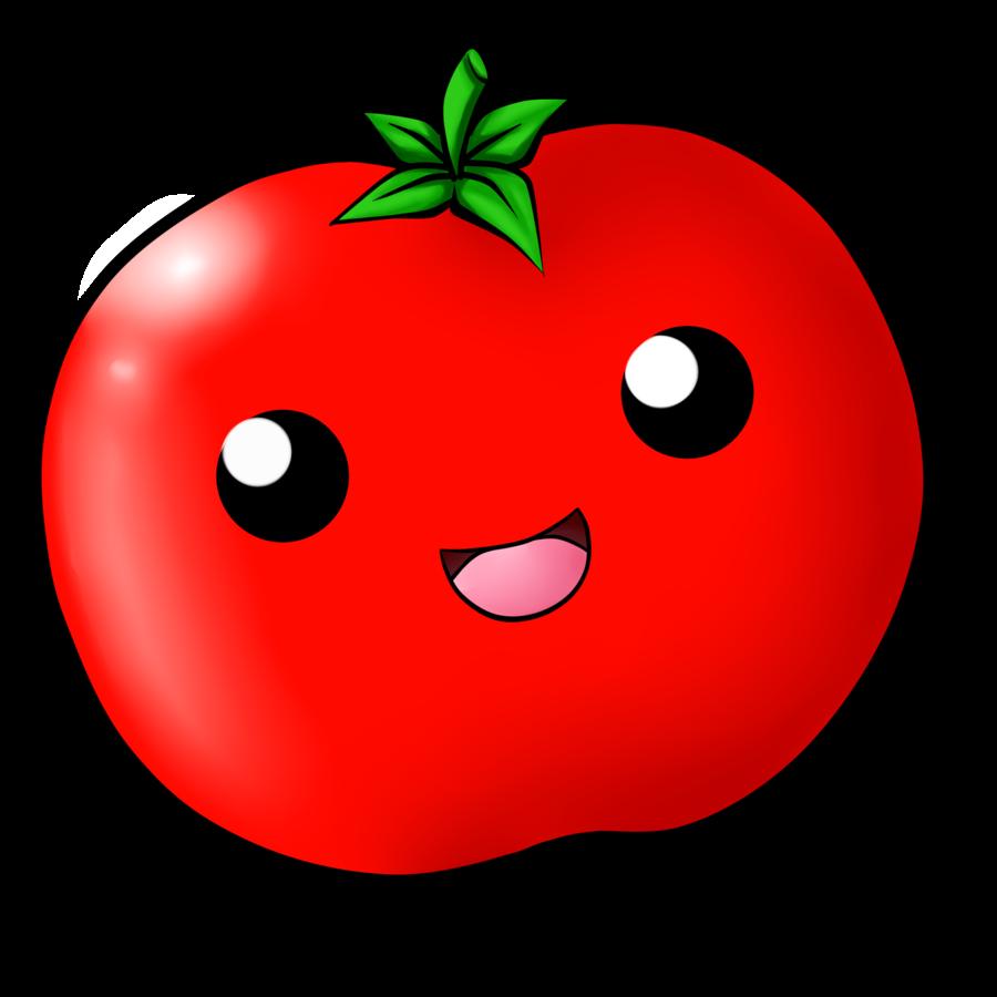 Kawaii Tomato by ChloeIsABunny on DeviantArt.
