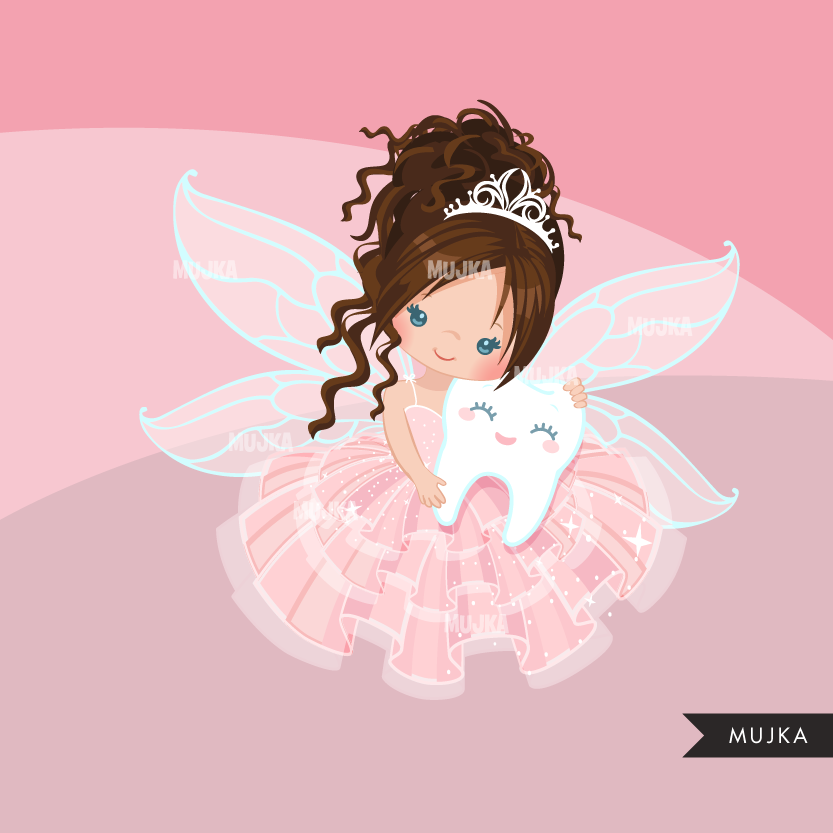 Tooth Fairy Clipart, cute fairy graphics.