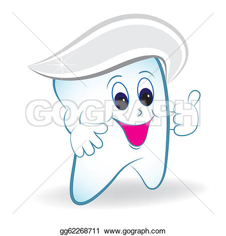 Toothpaste Characters Clip Art.