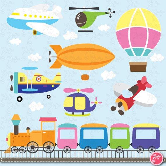 Transportation clip art: