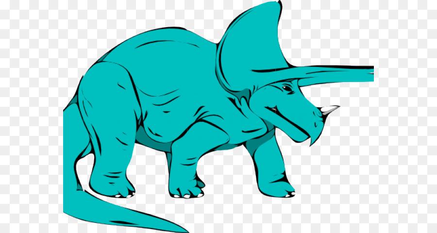 Triceratops Tyrannosaurus Clip art Dinosaur Free content.