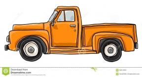 Clip Art Pickup Truck Front Clipart.