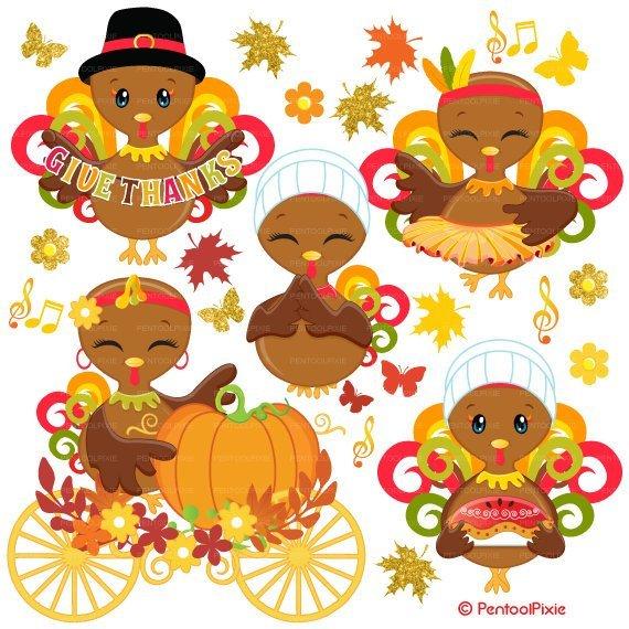 Cute thanksgiving turkey clipart 5 » Clipart Portal.