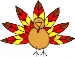 Cute Baby Turkey Clipart.