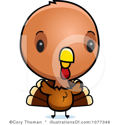 cute turkey clipart - Clipground