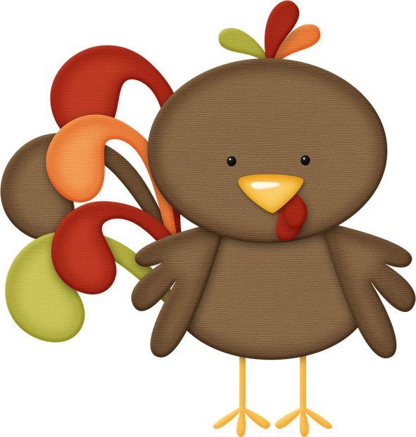 Cute Turkey Clipart.