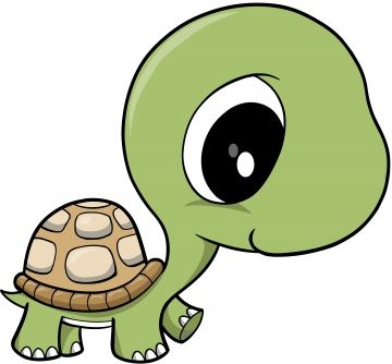 Cool Turtle Clipart.
