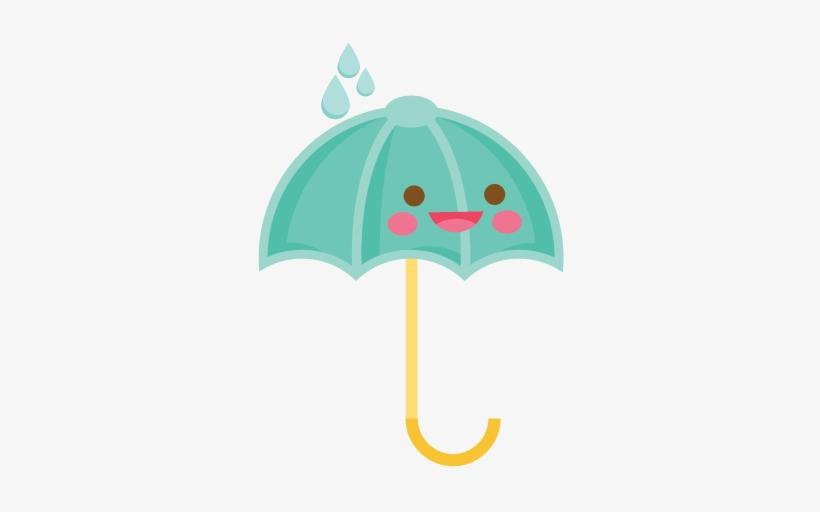 Cute Umbrella Clipart PNG Image.
