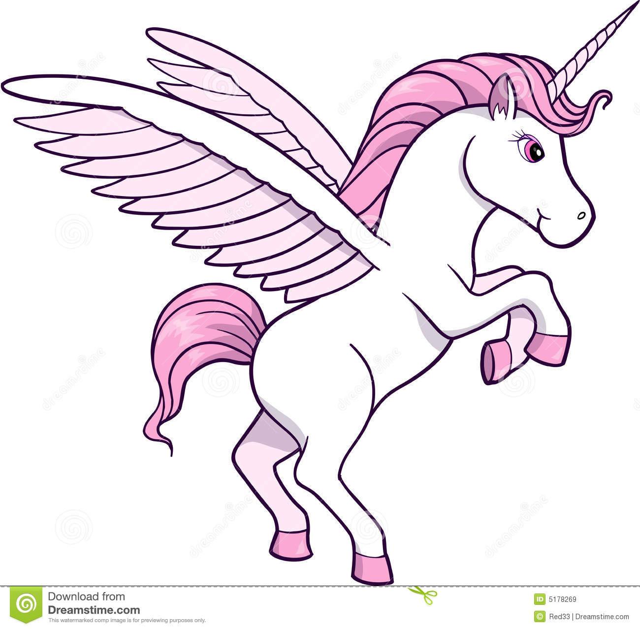 Cute Unicorns Clipart.