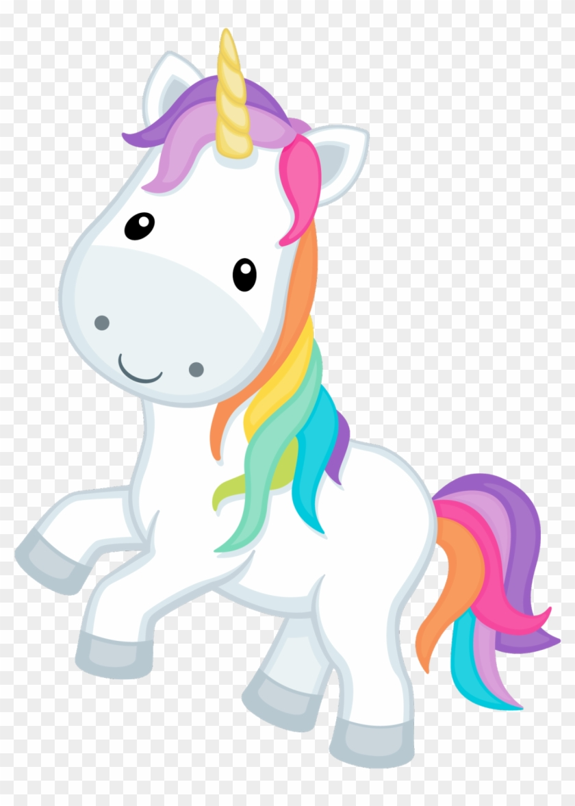 Unicornio Cute Png.