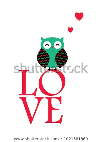 Cute Owl Valentines Day Clipart Vector Stock Vector (Royalty Free.