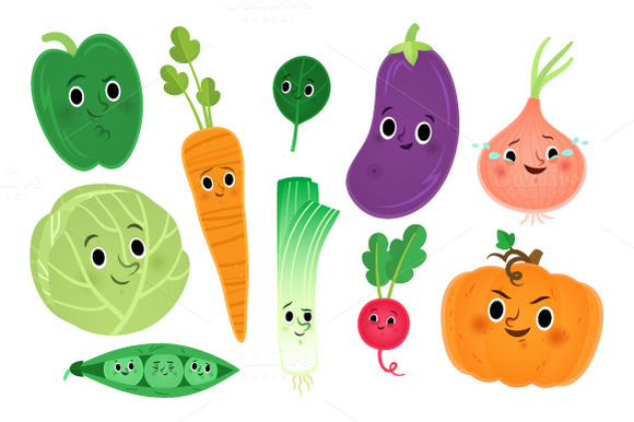 Free Cute Vegetable Cliparts, Download Free Clip Art, Free Clip Art.