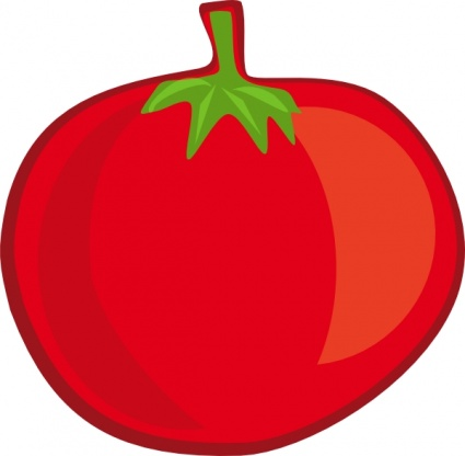 Cute Fruits And Vegetables Clipart.