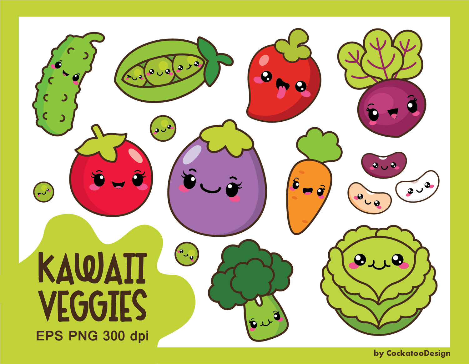 healthy vegetables clipart #8