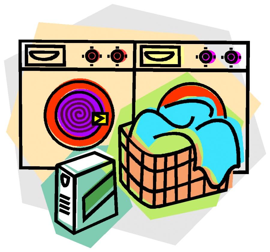 Showing post & media for Laundry room clip art cartoon.