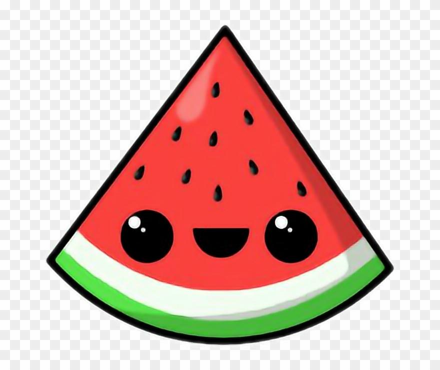 Cute Watermelon Clipart.