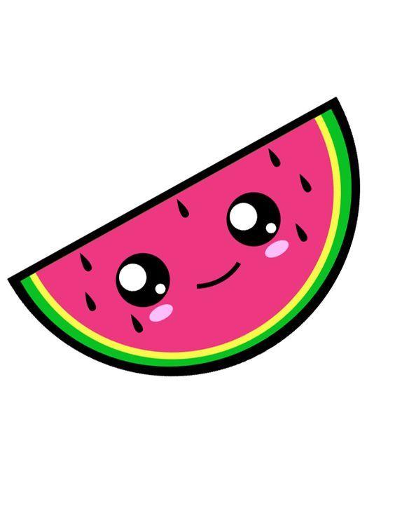 Cute watermelon clipart 3 » Clipart Station.