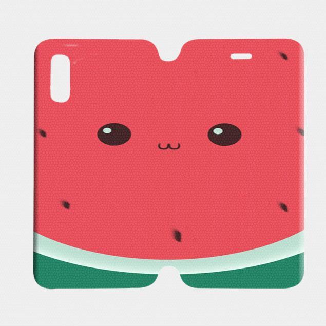Cute Watermelon Clipart iPhone XS Max Case.