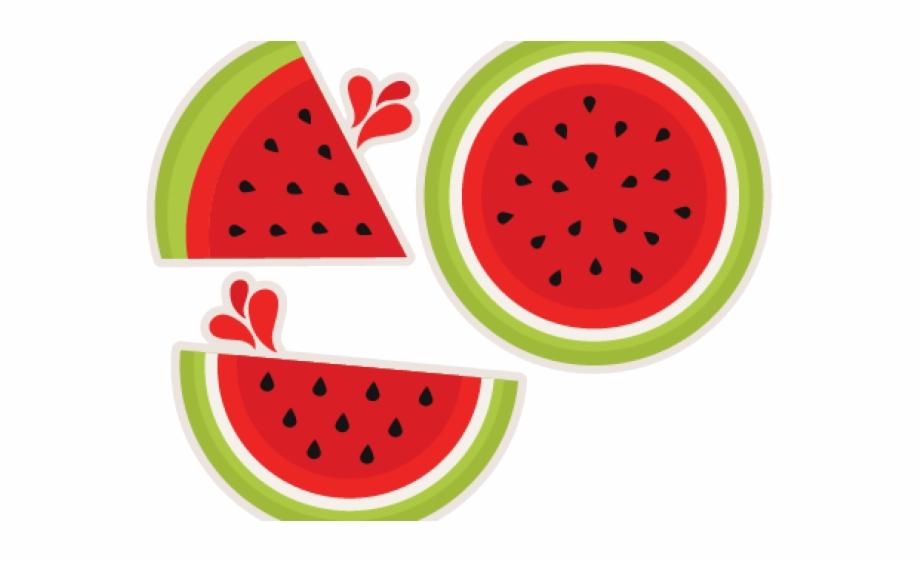 Watermelon Clipart Cute.