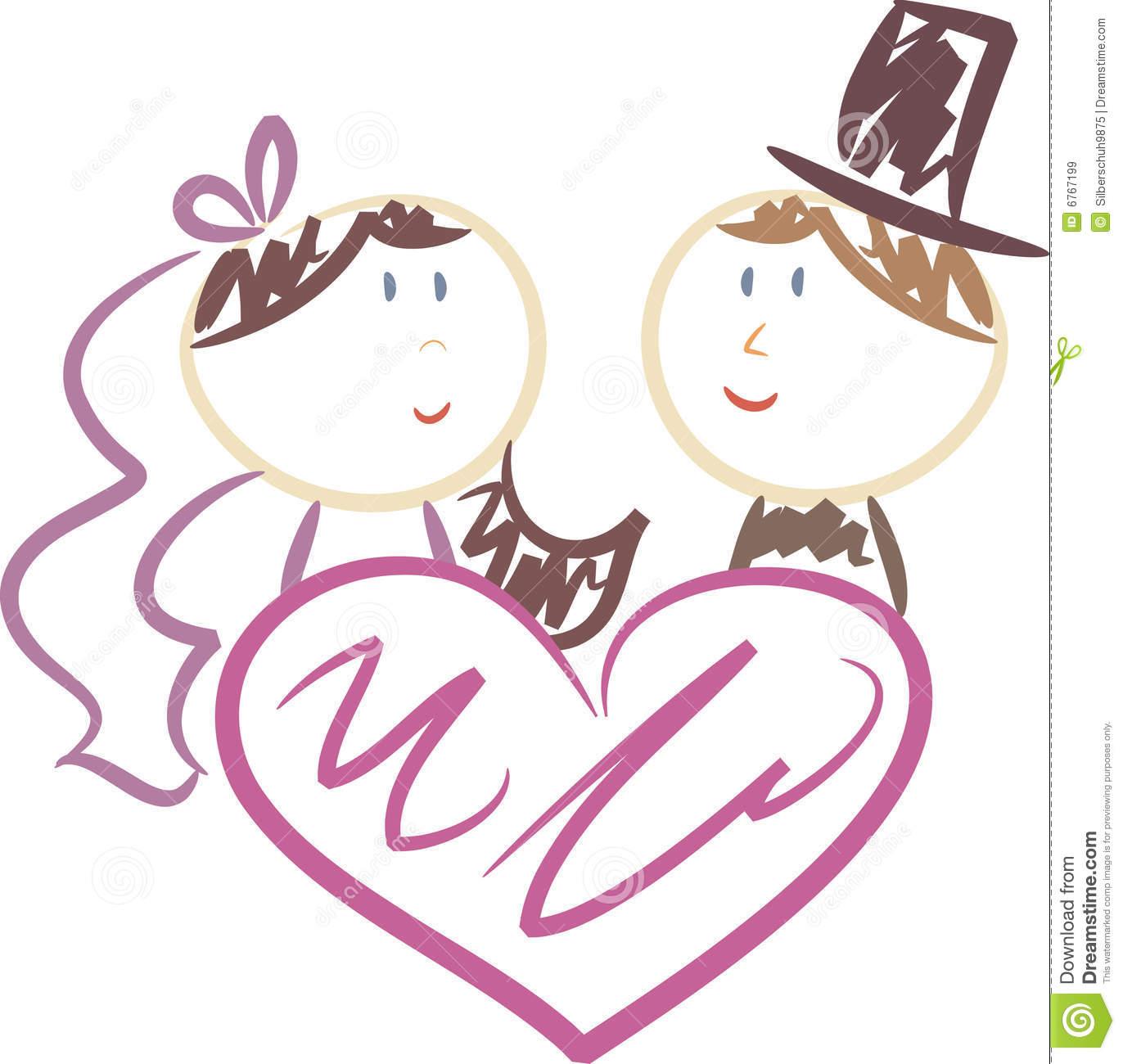 Cute Wedding Clipart Free.