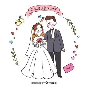Wedding Couple Vectors, Photos and PSD files.
