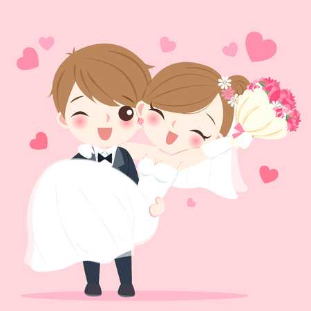 26,249 Wedding Couple Cartoon Stock Illustrations, Cliparts And.