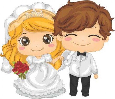 34 Ideas wedding couple clipart casamento.