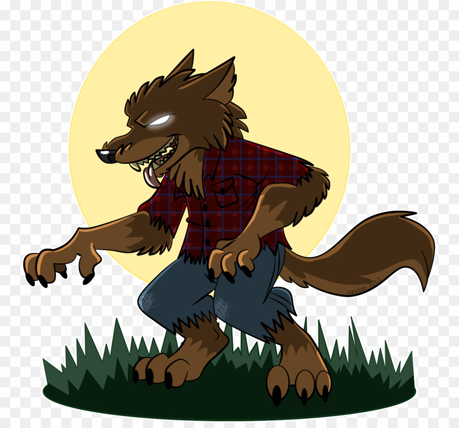 Cartoon Werewolf PNG Werewolf Clipart download.