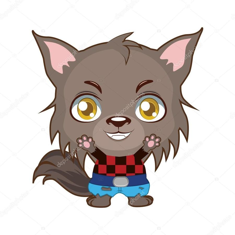 Download cute werewolf clipart Big Bad Wolf Clip art.