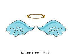 Cute Angel Wings Clipart.