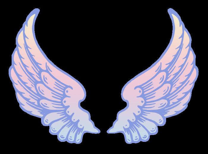 PeterM Angel Wings Remix Public Domain Clip Art.