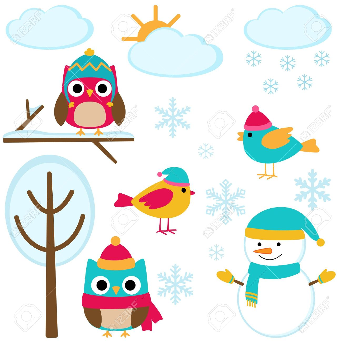 Cute winter clipart 5 » Clipart Station.