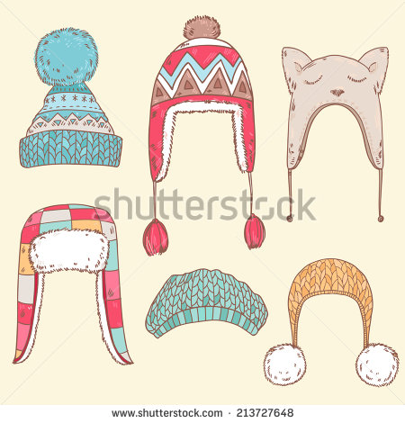 Winter Hat Stock Images, Royalty.