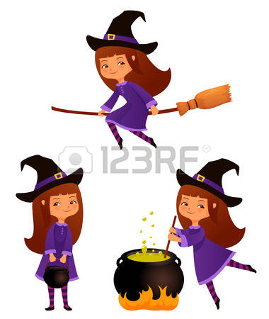 3,485 Witch Cauldron Stock Vector Illustration And Royalty Free.