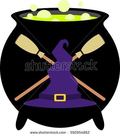 Cauldron Stock Images, Royalty.