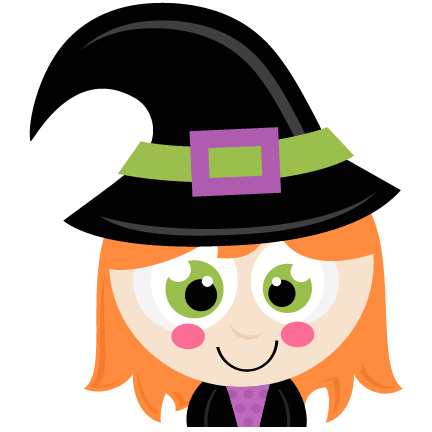 14+ Cute Witch Clipart.